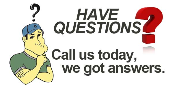 we can answer all your questions