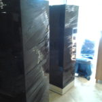 Pads and shrink wrap