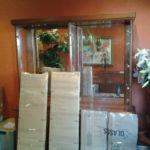 China cabinet glass