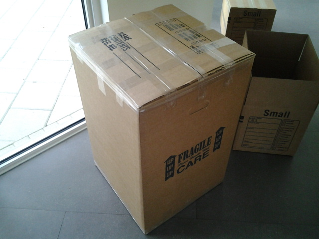 Moving boxes at special price
